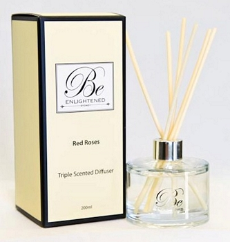 RED ROSES TRIPLE SCENTED DIFFUSER