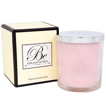 PINK ROSES TRIPLE SCENTED CANDLE