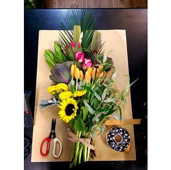REGULAR CUT FLOWERS DELIVERIES - DIY