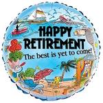 Happy Retirement Foil Balloon